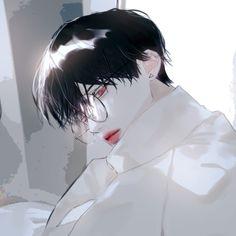 Garçon Anime Hot, Dark Anime Guys, Cute Anime Guys, Manga Boy, Manga Anime, Pretty Art, Cute Art, Aesthetic Art, Aesthetic Anime