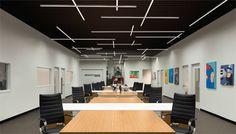 Modular LED Lighting Transforms Chicago Office