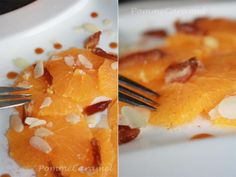 Salade d'orange aux dattes ¦ Pomme Caramel
