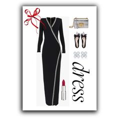 LONG SLEEVE DRESS by mcodyfashionanddesign on Polyvore featuring Balmain, Miu Miu, Gucci, Givenchy, longsleeve and contestentry