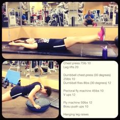 Some core and chest work today. Note on my video how my neck is protruding during my push-up. That is NOT the correct way to do push-ups!