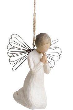 18.99$  Buy now - http://viphv.justgood.pw/vig/item.php?t=bp1a0kk50819 - Angel Of Prayer Ornament 18.99$