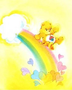 Care Bears: Birthday Bear. I loved this when I was little, got this bear for Christmas!
