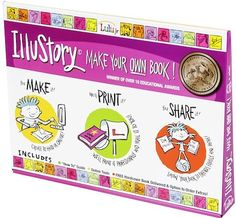 IlluStory Make Your Own Book Kit on www.amightygirl.com