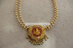 Latest Indian Clothing And Jewellery Designs Gold Bangles Design, Gold Jewellery Design, Antique Jewellery, Beaded Jewelry, Pearl Jewelry, Indian Jewelry, Bridal Jewelry, Gold Temple Jewellery, Gold Mangalsutra Designs