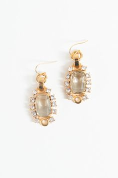 Looking Glass Drop Earrings #gerardyosca