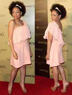 Celebrity Hair: Raven Symone From Long Weaves to Natural Afro