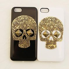 iPhone+Case+punk+style+iPhone+CasesSkull+iPhone+by+iphonecasestar,+$9.99