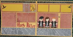 Harry Potter Scrapbook Pages 12 x 12 by HighlandInspirations