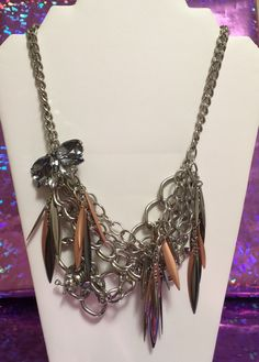 A personal favorite from my Etsy shop https://www.etsy.com/listing/272622198/new-jewelry-chain-silver-copper-stones