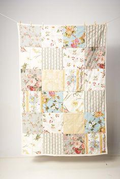 soft florals quilt.
