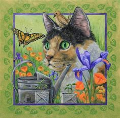 """Nature Kitty"" by Joy Campbell"