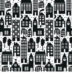 Sint Nicolaas en zijn Maatjes; Leuk Sinterklaas inpakpapier/ Wallpaper - I ♥ patterns