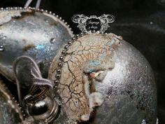 Inspiracje z duszą : Bombki galactic ice