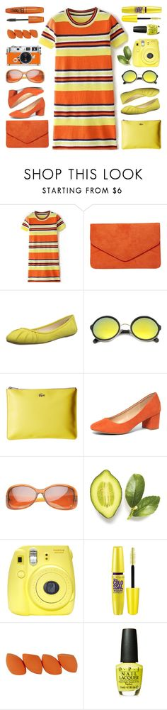 """""""this or that"""" by tinkertot ❤ liked on Polyvore featuring Dorothy Perkins, Nine West, ZeroUV, Lacoste, SW Global, Fraiche, Fuji, Hermès, Maybelline and OPI"""