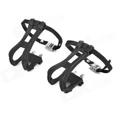 Foot Fixed Binding Pedal Straps Set for Fixed Gear / Mountain Bike - Black (Pair) Price: $8.77