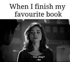 Yes. Especially when can't talk about the book with anybody who understands you because you don't want spoiler