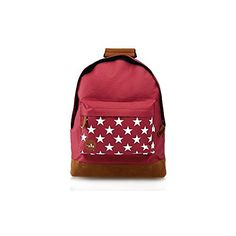 8fa837d0e40b MiPac Backpacks Stars Burgundy One Size -- Click image to review more  details.(