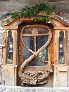 Amazing door design