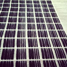Weaving based on the work of Ryoji Ikeda...