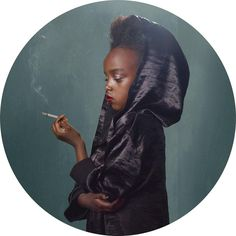 Smoking Kids by Frieke Janssens - very conterversial...