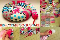 DIY Sock Snake