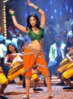 Ileana D`Cruz to romance `Bullet Raja` Saif Ali Khan - i love Bollywood costumes, especially for their songs/dances. this one's too cute!