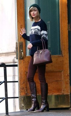 Taylor Swift Sweater Weather Outfit 2017 Street Style