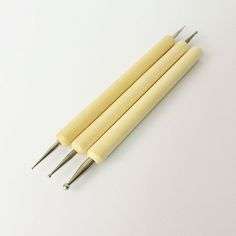 ball pen,stylus,clay tool,leather tool,nail art tool