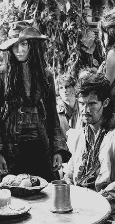 Black Sails - Jack Rackham & Anne Bonny