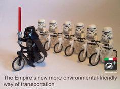 Empire strikes back.. (and it rides a zero-emission fleet!!!)