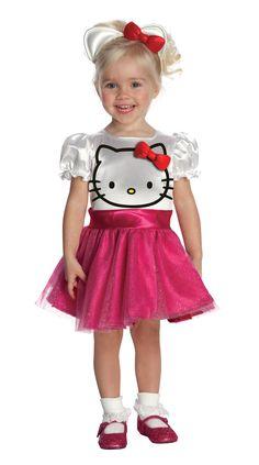 Hello Kitty - Hello Kitty Tutu Dress Toddler Costume, 801423