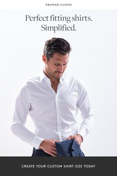Find out why guys are choosing Proper Cloth\'s custom dress shirts over traditional off-the-rack brands.