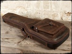Leather Guitar Case, Leather GIg Bags by Anthology Gear Wear