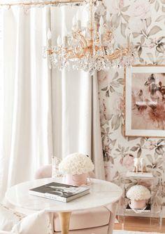 Rich Girl Bedroom, Bedroom Wall, Bedroom Decor, Inspirational Wallpapers, Aesthetic Rooms, Design Interiors, Interior Design, Beauty Room, Inspired Homes