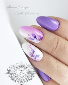VK is the largest European social network with more than 100 million active users. Chic Nails, Stylish Nails, Trendy Nails, French Acrylic Nails, Best Acrylic Nails, Rose Gold Nails, Purple Nails, Tape Nail Art, Lavender Nails