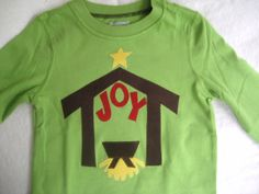 I want one of these for me! (Would have to make one for my sweet daughter, too...) - LOVE this CHRISTmas shirt!