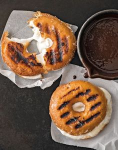 Grilled S'mores Doughnuts