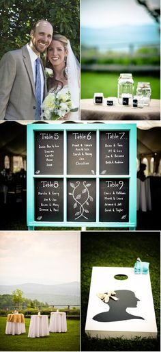Bags at a wedding = guaranteed fun.  Ours may not have been quite as glam as these but they were still much-loved!