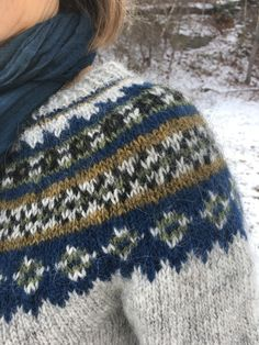 Lopi Week: Our First Lopi Sweaters – Knitting and Crochet techniques from the Berroco Design Team Fair Isle Knitting Patterns, Fair Isle Pattern, Sweater Knitting Patterns, Knitting Designs, Knit Patterns, Icelandic Sweaters, Nordic Sweater, Yarn Shop, Sweater Design