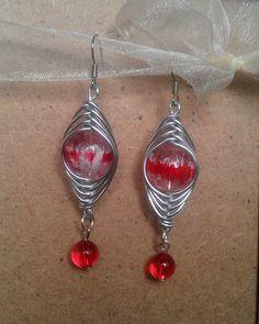 Elegant wire earrings