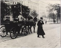 """© MAK Archiv, ca. 1865, Franz Joseph I., Emperor of Austria, Ringstraße, Vienna --- """"Es war sehr schön, es hat mich sehr gefreut."""" (Franz Joseph I.)"""