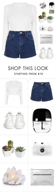 """Words From Heart"" by dianakhuzatyan ❤ liked on Polyvore featuring Topshop, Ash, Marc Jacobs, Pier 1 Imports and Monki"
