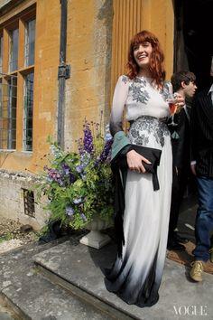 My Fair Lady: Mary Charteris's Wedding. Vogue. December 2012.