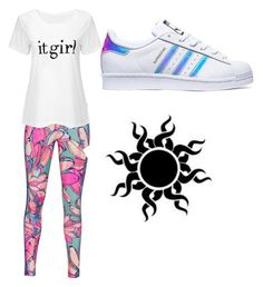 """""""Untitled #24"""" by punkie707 ❤ liked on Polyvore featuring adidas Originals and adidas"""