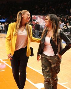 Beyonce Knowles & Lala Anthony ♥
