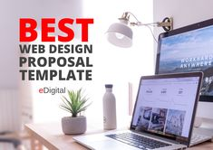 website design proposal template cover Website Proposal, Web Design Proposal, Best Web Design, Proposal Templates, Design Development, Good Things, Lettering, Cover, Drawing Letters