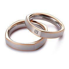 Engagement Rings Couple, Modern Engagement Rings, Couple Rings, Matching Wedding Bands, Matching Rings, Couples Ring Tattoos, Couple Ring Design, Bridal Rings, Wedding Rings