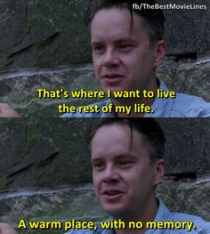 You are watching the movie The Shawshank Redemption on Putlocker HD. Framed in the for the double murder of his wife and her lover, upstanding banker Andy Dufresne begins a new life at the Shawshank prison, where he puts Dark Quotes, Film Quotes, Series Movies, Movies And Tv Shows, Tv Series, Andy Dufresne, Shawshank Redemption Quotes, Die Verurteilten, Best Movie Lines