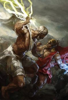 Ares, the Greek god of war.
